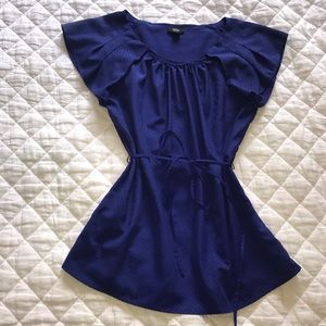Mossimo blue/purple top. Size Medium.